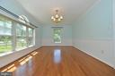 Bright dining  room in front of home - 20257 REDROSE DR, STERLING