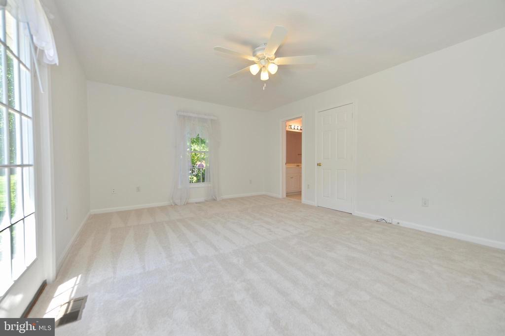 Master bedroom with walkin closet - 20257 REDROSE DR, STERLING