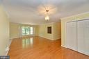 Living room - 20257 REDROSE DR, STERLING