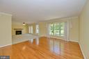 Living room to family room - 20257 REDROSE DR, STERLING