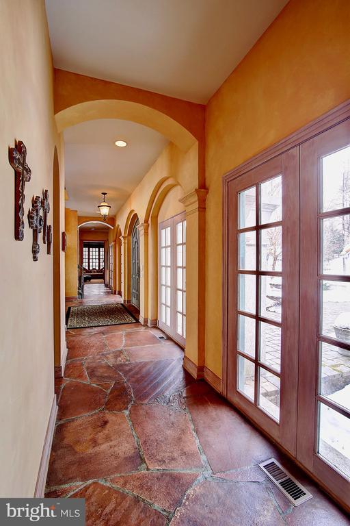 Hallway to Master Room and Office Room - 2180 HUNTER MILL RD, VIENNA
