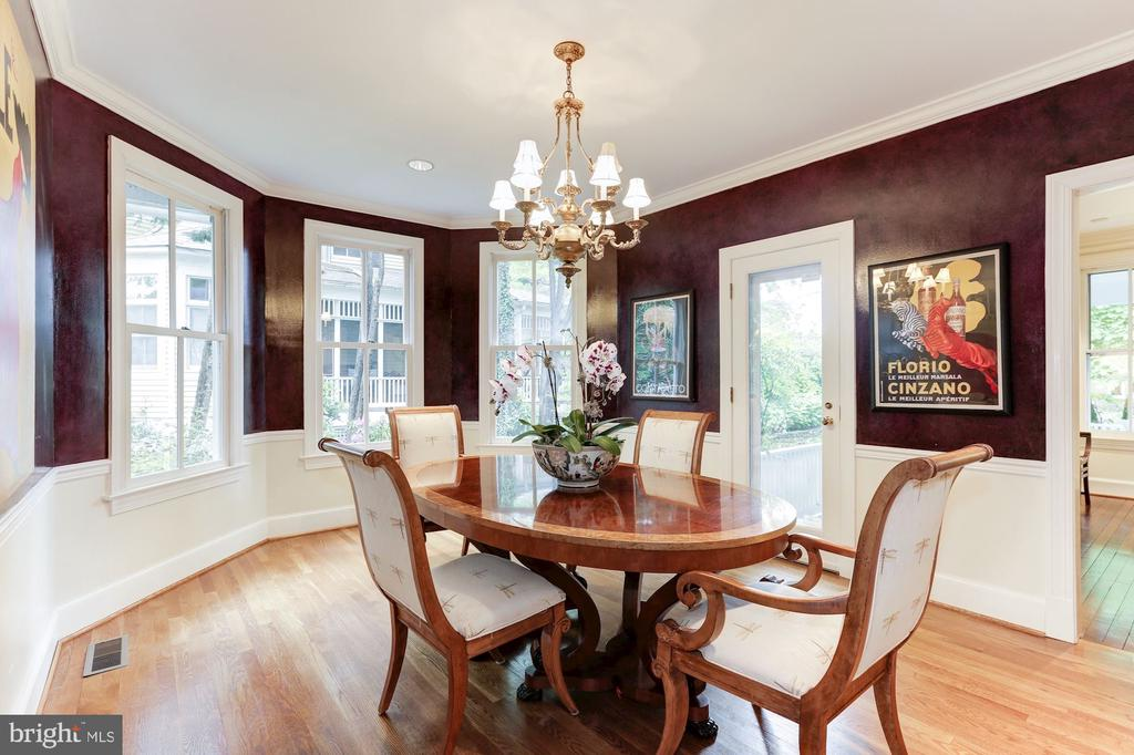 Dining Room View - 4721 CUMBERLAND AVE, CHEVY CHASE