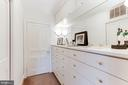 Master Dressing Room - 4721 CUMBERLAND AVE, CHEVY CHASE