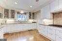 Gourmet Kitchen View - 4721 CUMBERLAND AVE, CHEVY CHASE