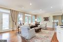 Great Room with Wall of French Doors - 4721 CUMBERLAND AVE, CHEVY CHASE