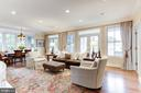 Great Room View - 4721 CUMBERLAND AVE, CHEVY CHASE