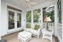 Screen Porch off of Great Room - 4721 CUMBERLAND AVE, CHEVY CHASE