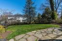 Large Rear Garden and Patio - 4721 CUMBERLAND AVE, CHEVY CHASE