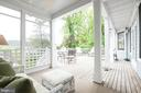 Porch Views - 4721 CUMBERLAND AVE, CHEVY CHASE