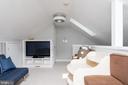 Upper level loft off of master. Perfect office. - 703 POTOMAC ST, ALEXANDRIA