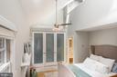 Beautiful well lit master bedroom. - 703 POTOMAC ST, ALEXANDRIA