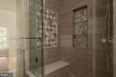 Master bath. - 703 POTOMAC ST, ALEXANDRIA