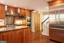 Spacious gourmet kitchen. - 703 POTOMAC ST, ALEXANDRIA