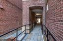 All brick historic walk-way to Modern Flats - 1745 N ST NW #102, WASHINGTON