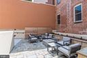Community courtyard with grilling and fire pit - 1745 N ST NW #102, WASHINGTON