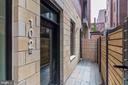 Private entrance! - 1745 N ST NW #102, WASHINGTON