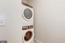 Large capacity washer/dryer in residence - 1745 N ST NW #102, WASHINGTON