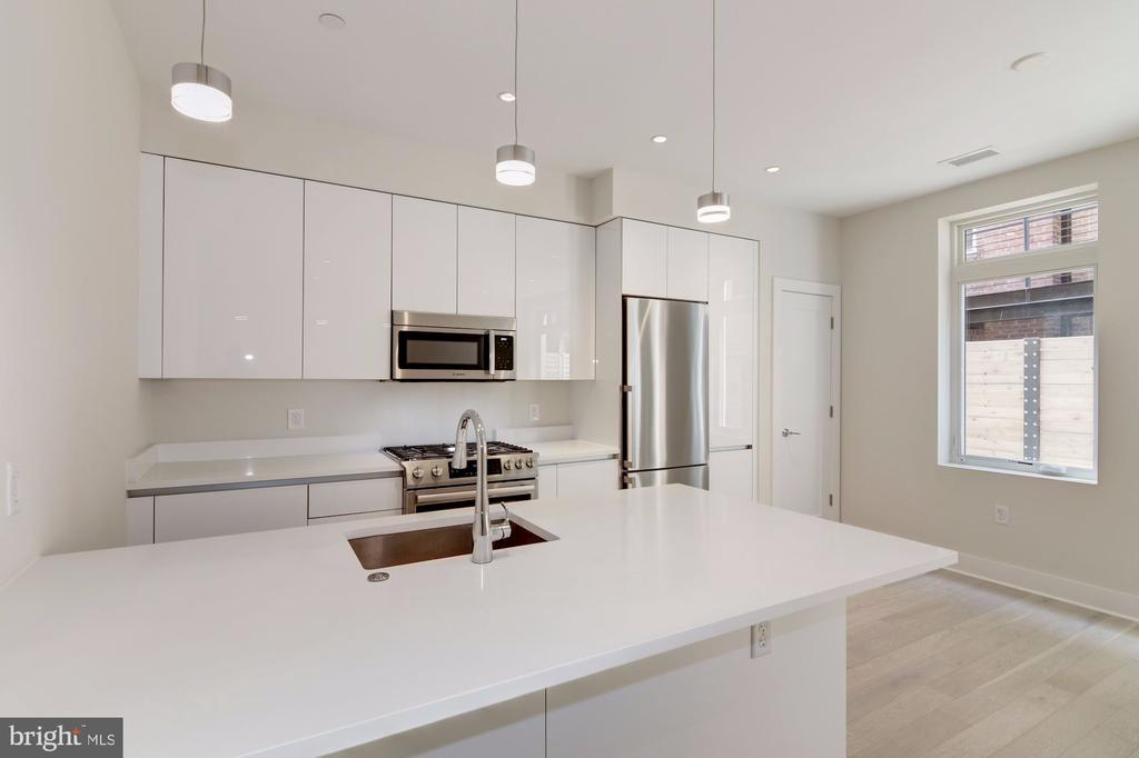 Gourmet kitchen with gas cooking - 1745 N ST NW #102, WASHINGTON