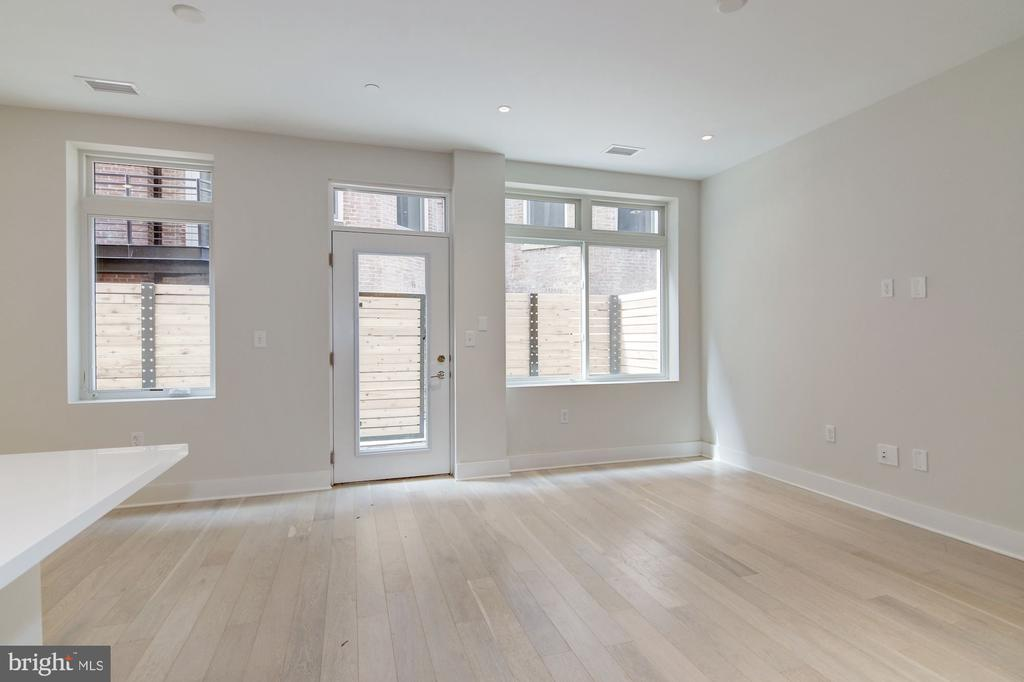 Main living area with good natural light - 1745 N ST NW #102, WASHINGTON