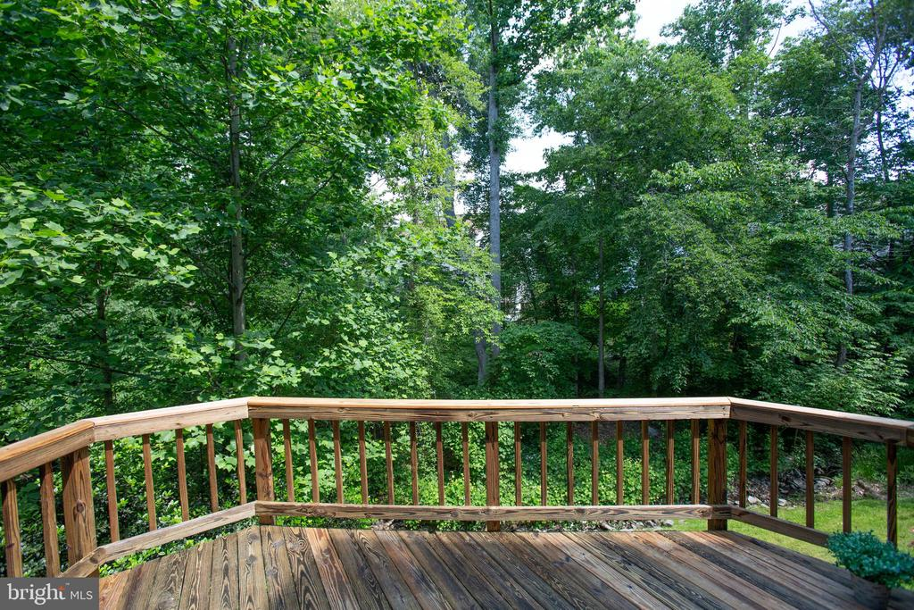 Private 14X12 deck off of the kitchen - 3456 CALEDONIA CIR, WOODBRIDGE