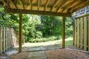 Great covered area under the deck - 3456 CALEDONIA CIR, WOODBRIDGE