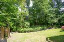 Private, grassy backyard - 3456 CALEDONIA CIR, WOODBRIDGE