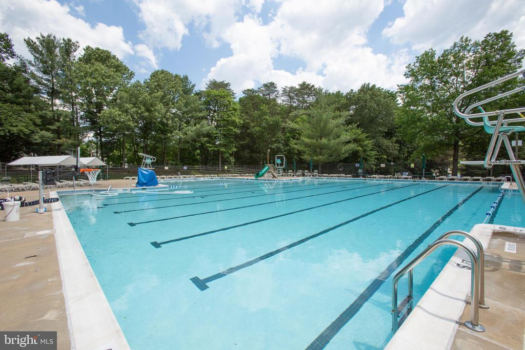 Total of 5 pools within the Lake Ridge community - 3456 CALEDONIA CIR, WOODBRIDGE
