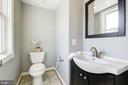 1/2 bath for guests on the 3rd floor - 2242 ONTARIO RD NW #3, WASHINGTON