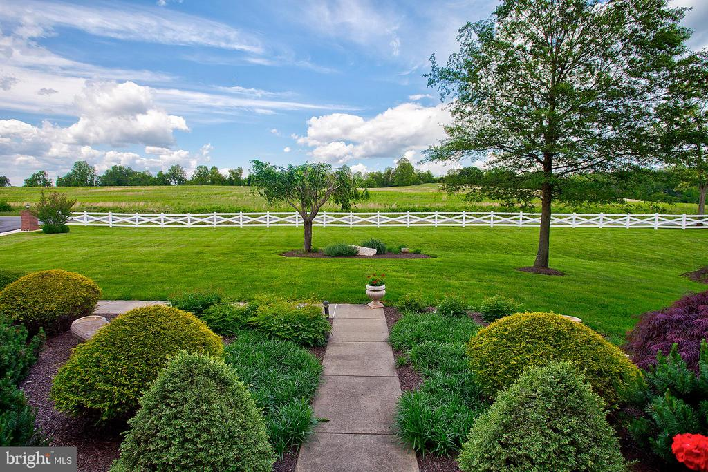 View from the front, love the white fencing. - 41045 STUMPTOWN RD, WATERFORD
