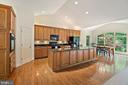 Gourmet kitchen - 6134 WALKER'S HOLLOW WAY, LOCUST GROVE