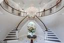 Dramatic circular rotunda in Grand Foyer - 10010 HIGH HILL PL, GREAT FALLS