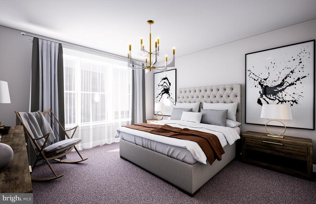 Owner's Bedroom - 9500 SPRAGUE AVE #50604, FAIRFAX