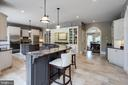 Multiple cooking stations and custom cabinetry - 10010 HIGH HILL PL, GREAT FALLS