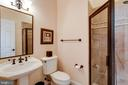 Main level Laundry/Mud Room with Full Bath - 10010 HIGH HILL PL, GREAT FALLS