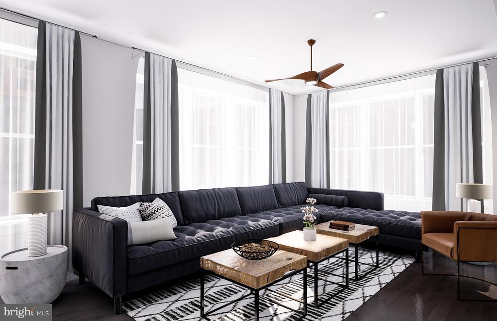 Living Room - 9500 SPRAGUE AVE #50604, FAIRFAX