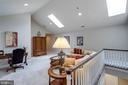3rd level Studio Retreat with cathedral ceiling - 10010 HIGH HILL PL, GREAT FALLS