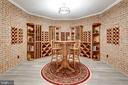 Mahogany Wine Cellar for 500 bottles - 10010 HIGH HILL PL, GREAT FALLS