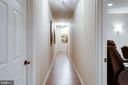 Hallway w/ unfinished space for future expansion - 10010 HIGH HILL PL, GREAT FALLS