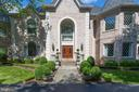 Custom brick exterior with concrete stone quoins - 10010 HIGH HILL PL, GREAT FALLS
