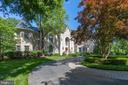 Mature trees and extensive hardscape - 10010 HIGH HILL PL, GREAT FALLS