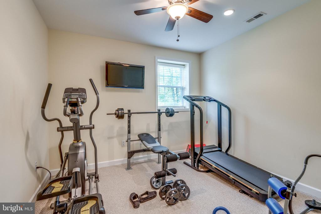 Lower Level Exercise Room - 9539 NOORY CT, VIENNA