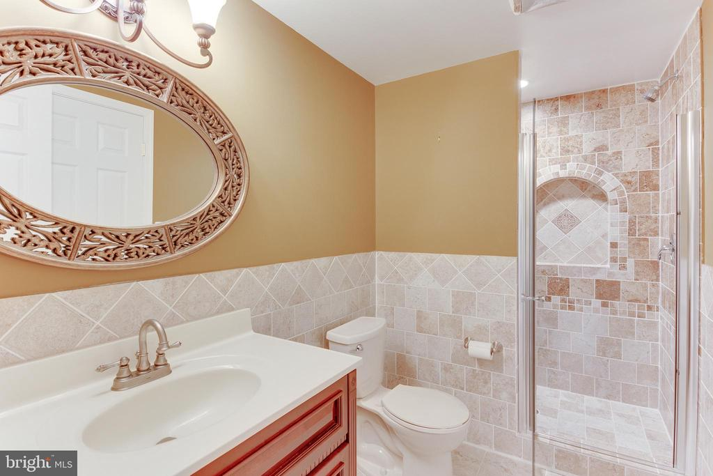 Lower Level Bathroom - 9539 NOORY CT, VIENNA