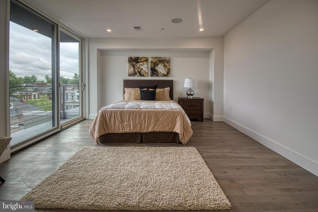 Master Bedroom - 3467 14TH ST NW #3, WASHINGTON