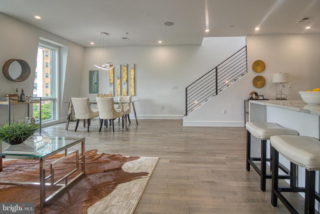 Open Living Area - 3467 14TH ST NW #3, WASHINGTON