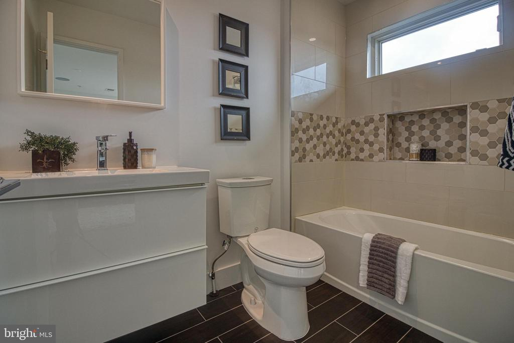 Full In Suite Bath - 3467 14TH ST NW #3, WASHINGTON
