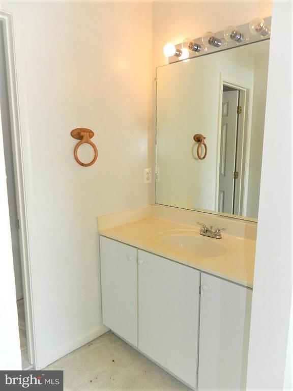 Jack and Jill  Second Bedroom Sink - 25485 FLYNN LN, CHANTILLY