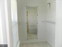 Second Bedroom Walk-In Closet - 25485 FLYNN LN, CHANTILLY