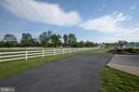 Long asphalt driveway to the house - 7411 SNOW HILL DR, SPOTSYLVANIA