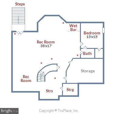Lower Level Floor Plan - 41371 RASPBERRY DR, LEESBURG