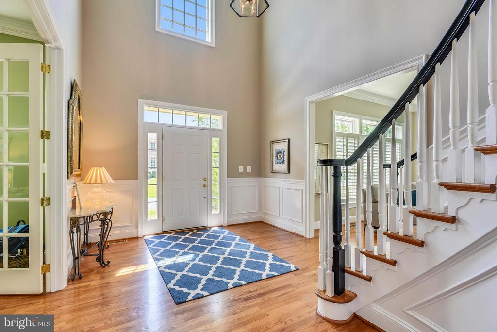 Sand in Place Hardwood Floors Throughout MainLevel - 41371 RASPBERRY DR, LEESBURG